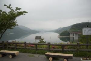 誇りの七ヶ宿湖