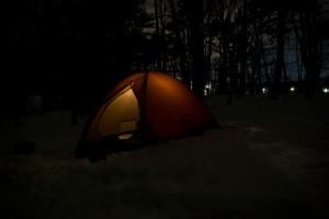 夜のテント3