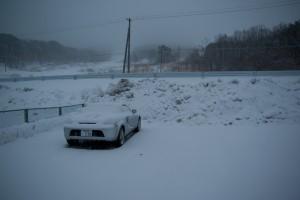 冬の MR-S