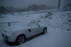 冬の MR-S 2
