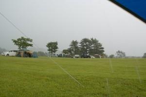 雨の吹上高原