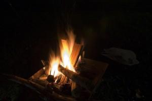 焚き火その1