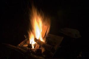 焚き火その2