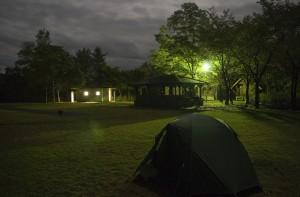 大平山リゾート高原の夜