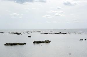 男鹿半島の浅瀬