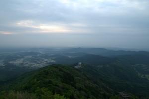 HDR合成の筑波山