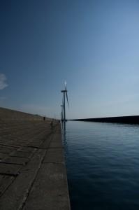酒田北港の風車