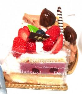 木村屋のケーキ 2 種