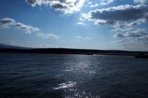 吹浦港の朝