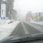 吹雪の蔵王