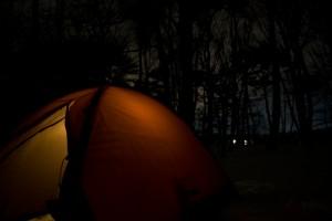 夜のテント2