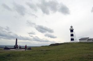 入道崎のしましま灯台