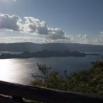 瞰湖台展望台からの風景
