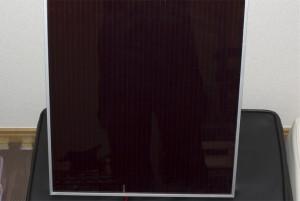 ソーラーパネル(表)