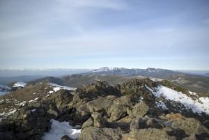 トムラウシ山頂からの風景1