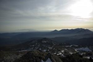 トムラウシ山頂からの風景3