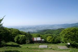 筑波高原キャンプ場の展望