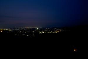 筑波高原キャンプ場の夜景1